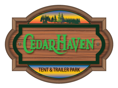 Cedar Haven Trailer Park Logo